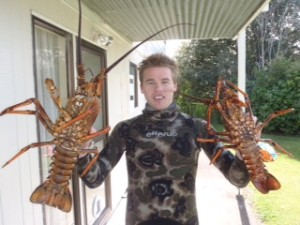 Buddle with Lobster